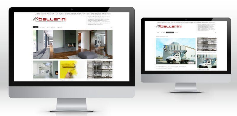 Creazione Siti web wordpress Milano ditta costruzioni