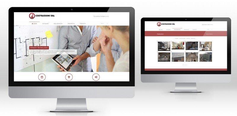creazione siti web ditta costruzioni