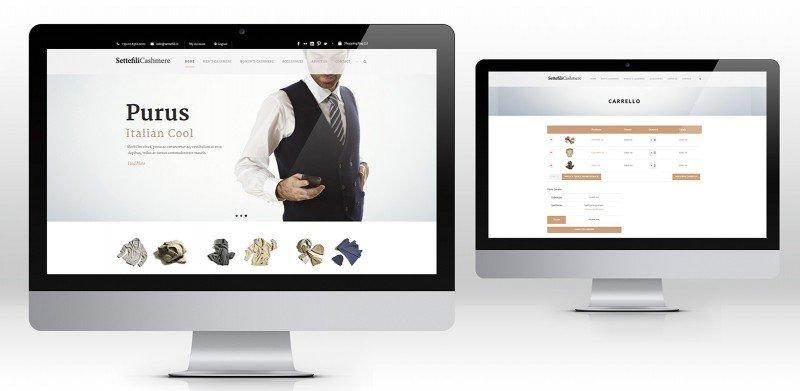 creazione siti web abbigliamento