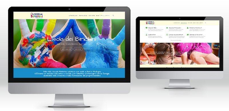 Creazione siti web asilo nido