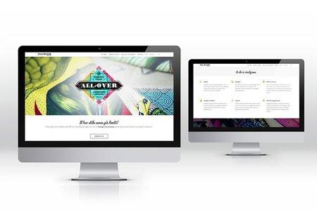 Creazione Siti web wordpress azienda All-Over