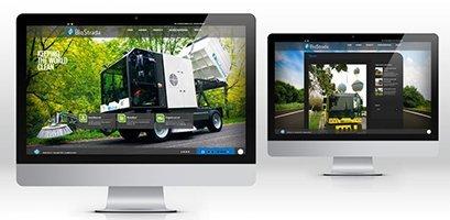 Creazione siti web, logo, grafica, marketing biostrada sito