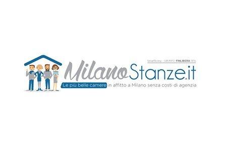 Creazione Logo Milanostanze.it agenzia immobiliare