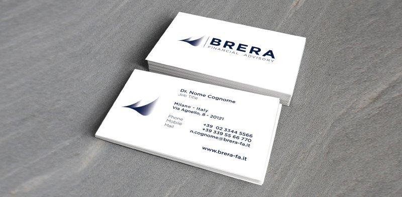 Creazione siti web, logo, grafica, marketing Brera financial advisory