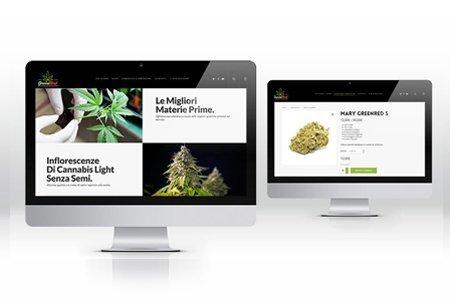 Cannabis Legale sito web