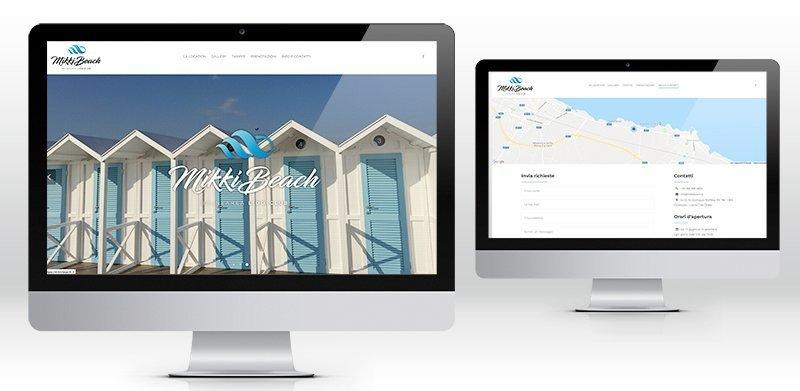 Creazione sito web lido balneare