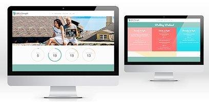Creazione sito web wordpress matrimonio