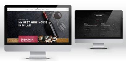 Creazione sito web vineria Milano