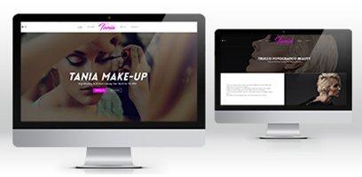 Creazione Siti web wordpress Milano makeup artist