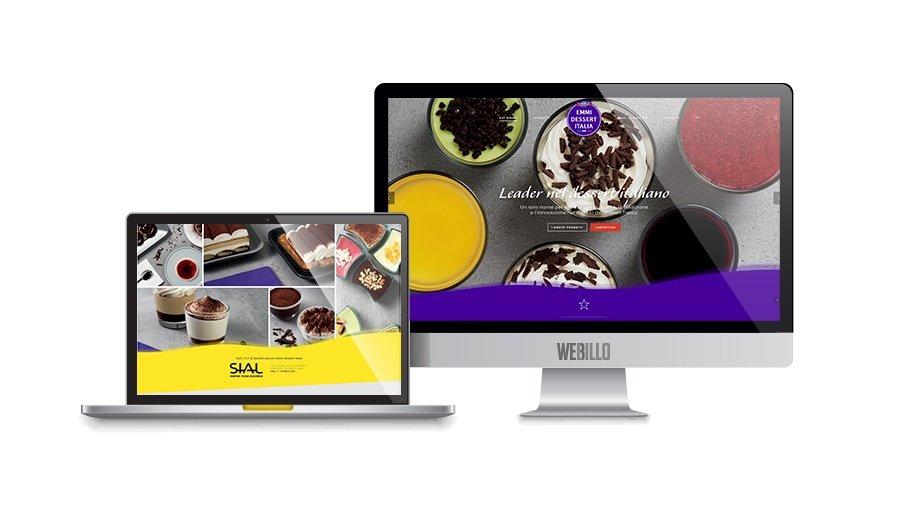 Creazione landing page wordpress Emmi dessert