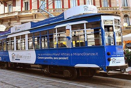 MilanoStanze.it Tram Milano