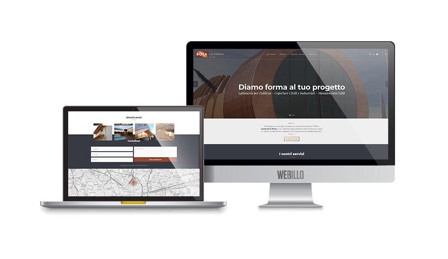 Creazione Siti web wordpress Milano Rota
