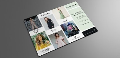 Fashion Avenue Invitation card