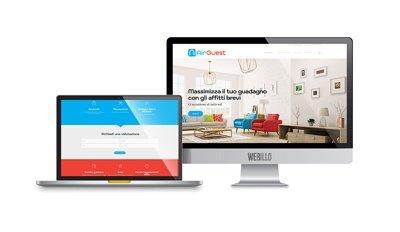 Creazione siti internet wordpress Milano AirGuest