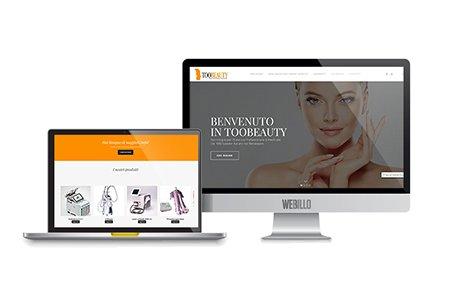Toobeauty sito e-commerce